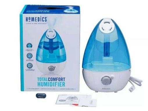 Máy tạo độ ẩm Homedics UHE-CM25D là máy tạo ẩm hoàn hảo cho các phòng vừa / nhỏ.