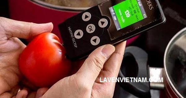 Kiểm tra chất lượng cà chua bằng máy kiểm tra thực phẩm Soeks