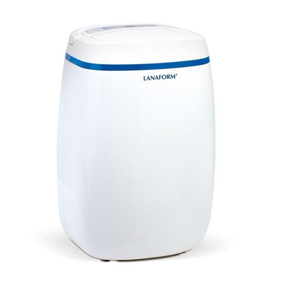 Máy hút ẩm Lanaform S1 đi kèm bình chứa nước có dung tích 2,5 lít