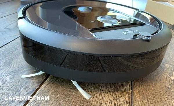 iRobot Roomba 981 có Kết nối Wi-Fi, cài đặt ứng dụng iRobot home để điều khiển, có chế độ bàn chải quét cạnh tường,