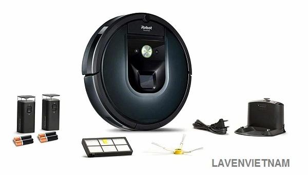 Trọn bộ sản phẩm Robot hút bụi iRobot Roomba 981