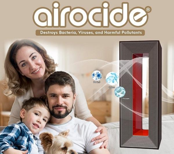 Hệ thống lọc không khí Airocide APS-200 PM 2.5 được FDA liệt kê là Thiết bị Y tế Loại II và không tạo ra ôzôn.