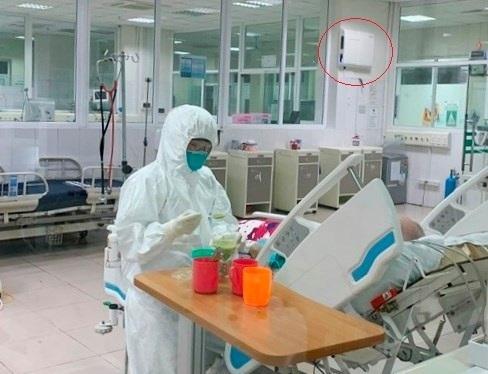 Sử dụng máy khử khuẩn Airocide trong chống dịch COVID tại các tuyến bệnh viện có lây nhiễm