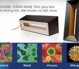 Phòng chống coronavirus với công nghệ buồng phản ứng của Máy lọc không khí Airocide