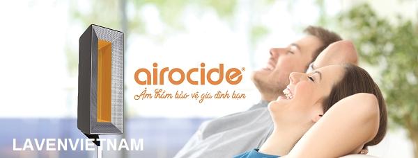 Airocide - Bảo vệ sức khỏe người thân của bạn