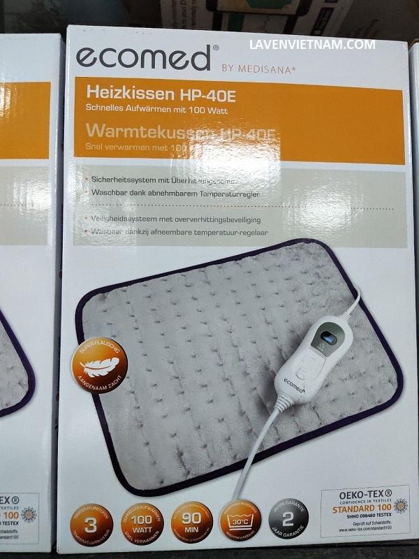 Tấm sưởi điện Medisana Ecomed HP-40E