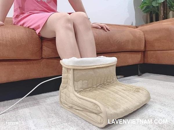 Medisana FWS giữ ấm đôi chân của bạn trong mùa đông lạnh