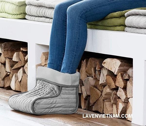 Giữ ấm bàn chân với 3 mức nhiệt độ điều chỉnh tự do và lõi rất mềm và thoáng khí đáp ứng mọi nhu cầu