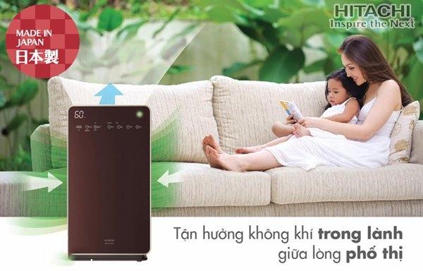 Laven Việt Nam phân phối chính thức sản phẩm Máy lọc không khí Hitachi