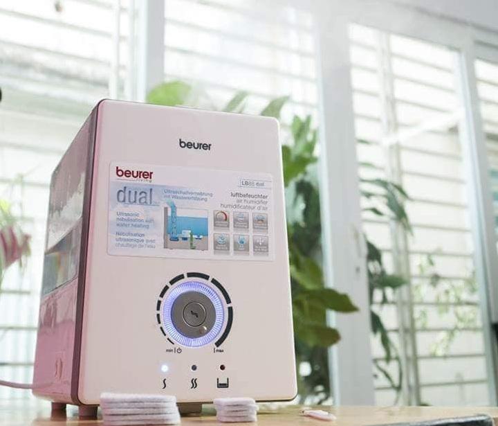 Thiết kế máy tạo độ ẩm Beurer LB88 phù hợp với mọi căn nhà