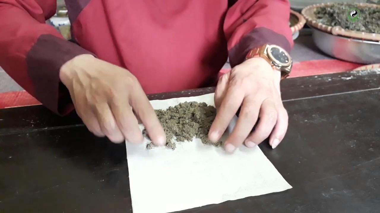 Cách làm điếu ngải
