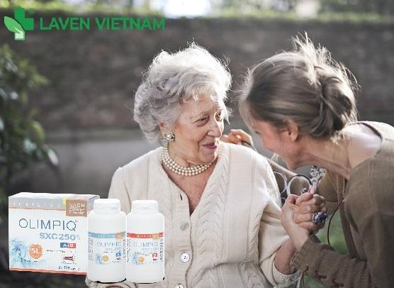 Viên uống tế bào gốc Olimpiq là món quà quý giá cho sức khỏe người cao tuổi trong gia đình bạn
