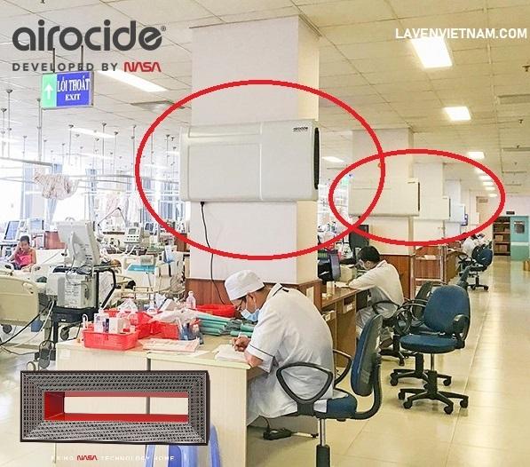 Airocide đã tạo ra một máy lọc không khí có thể loại bỏ hơn 99,9% Covid-19.