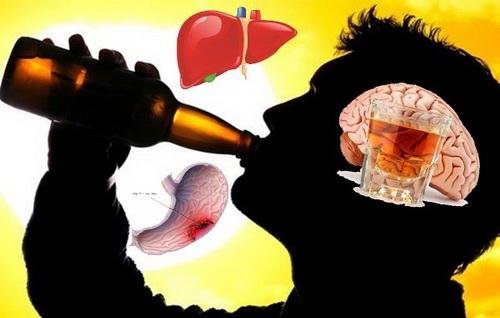 Nghiện bia rượu có thể gây hại đến hệ tiêu hóa và ảnh hưởng không nhỏ đến phổi, hệ hô hấp