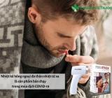 Nhiệt kế hồng ngoại đo thân nhiệt từ xa là sản phẩm bán chạy trong mùa dịch COVID-19