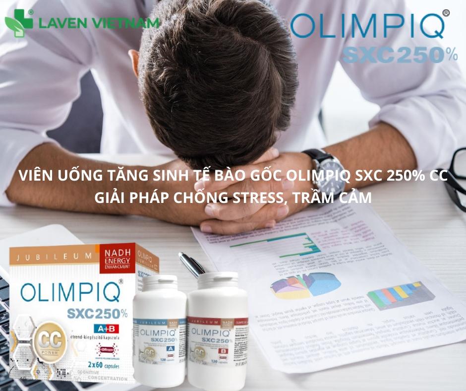 Viên uống tăng sinh tế bào gốc nội sinh Olimpiq SXC 250% CC giúp điều trị những bệnh liên quan hệ thần kinh
