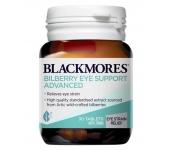 Bổ mắt Blackmores Bilberry Eye Support Advanced 30 viên