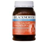 Thực phẩm chức năng Blackmores Total Calcium Magnesium D3 200 viên