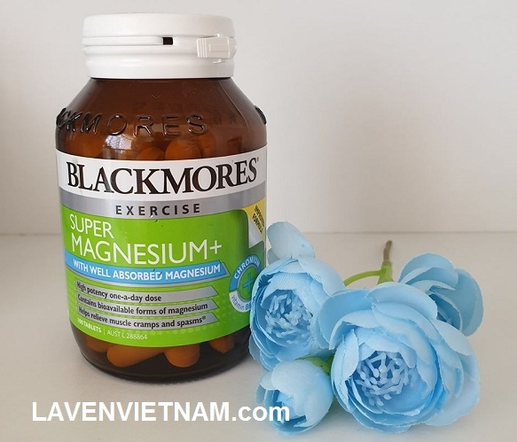 Viên uống Magie Blackmores Super Magnesium 100 viên