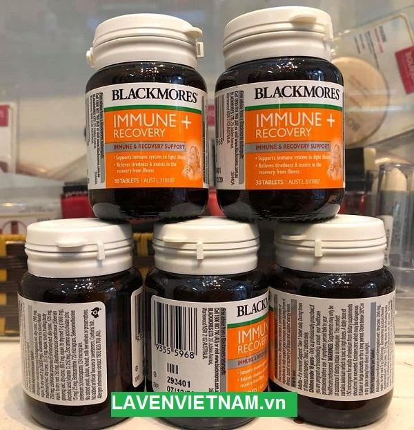 Tăng miễn dịch Blackmores Immune + Recovery 30 viên
