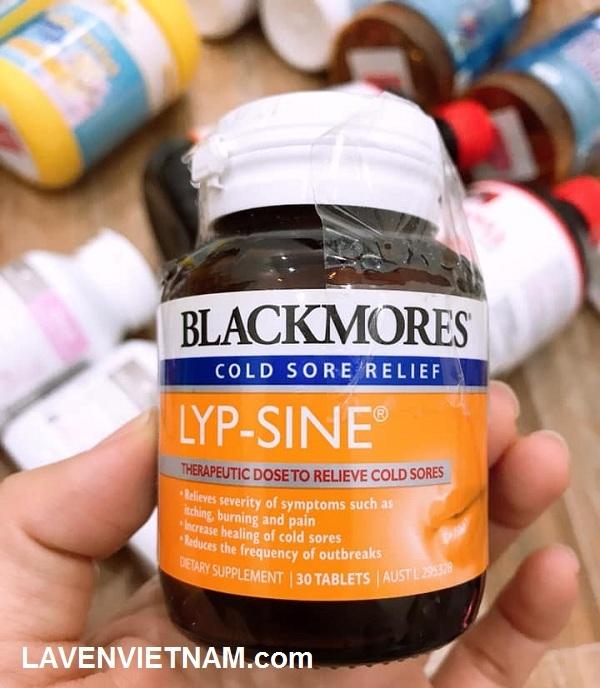 Trị nhiệt miệng Blackmores lyp-sine làm giảm nguy cơ bị virus tấn công, duy trì khả năng chống nhiễm trùng vết thương