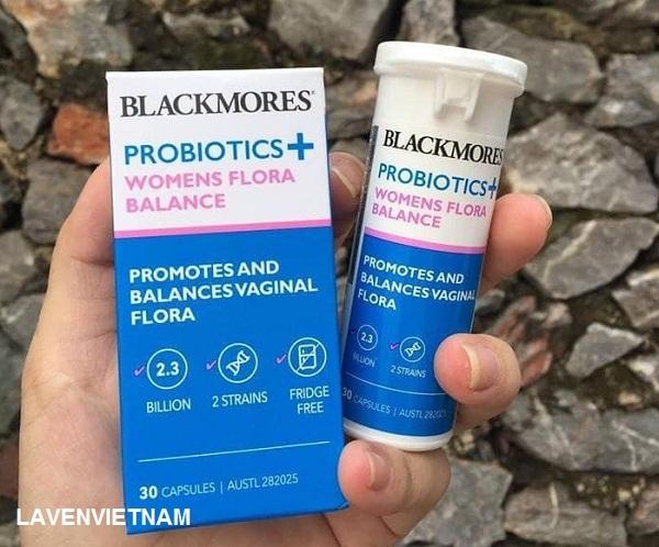 Men vi sinh trị viêm âm đạo Blackmores Probiotics Womens 30 viên