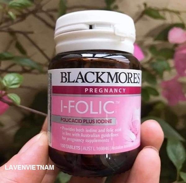 Chỉ 1 lọ Blackmores I-Folic Pregnancy 150 viên sẽ cung cấp đủ liều I-ốt và Axit Folic trong vòng 5 tháng