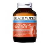 Viên uống Blackmores Total Calcium Magnesium+D3 125 viên