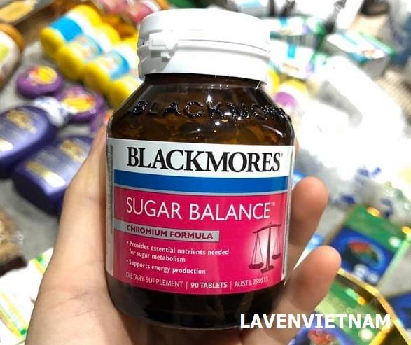 thành phần nguyên liệu Blackmores Sugar Balance hoàn toàn từ thiên nhiên vô cùng an toàn khi sử dụng.