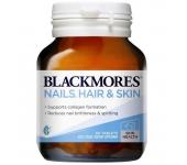 Viên uống làm đẹp da móng tóc Blackmores Nail Hair Skin 60 viên