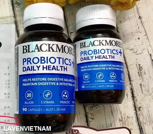 Men vi sinh Blackmores Probiotics Daily Health 90 viên