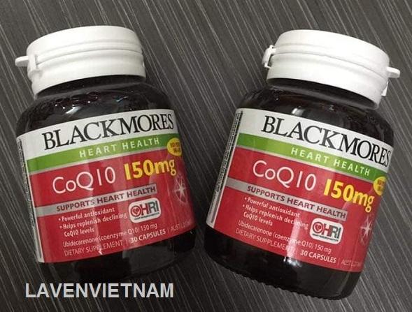 Thuốc bổ tim mạch Blackmores CoQ10 150mg 125 viên