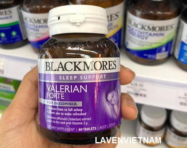 Hỗ trợ giấc ngủ Blackmores Valerian Forte 2000mg 60 viên