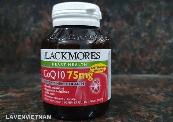 Thuốc bổ tim mạch Blackmores CoQ10 75mg 90 viên