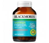 Dầu cá Blackmores Fish Oil mini caps 200 viên