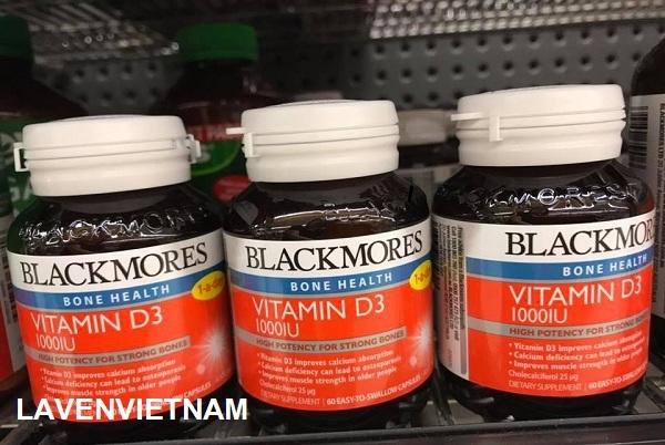 Bổ sung vitamin D3 Blackmores Vitamin D3 1000IU