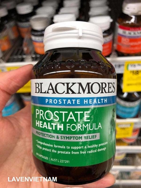 Viên uống hỗ trợ điều trị tuyến tiền liệt Blackmores Prostate Health Formula 60 viên
