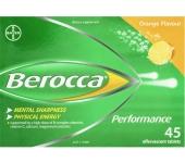Viên sủi tăng đề kháng Berocca 45 viên (Vị cam) - Úc