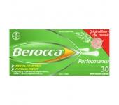 Viên sủi tăng đề kháng Berocca 30 viên (Vị dâu) - Úc