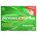 Viên sủi tăng đề kháng Berocca 45 viên (Vị dâu) - Úc