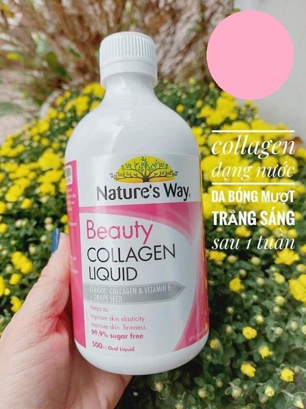 Bí quyết cho công thức đột phá của Nature 'Way Beauty Collagen Liquid là nó giúp nuôi dưỡng làn da của bạn từ bên trong