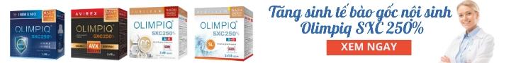 Tìm hiểu thêm về tăng sinh tế bào gốc nội sinh Olimpiq SXC 250%