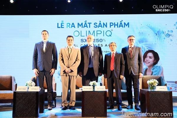 Buổi lễ ra mắt sản phẩm Olimpiq tại Việt Nam