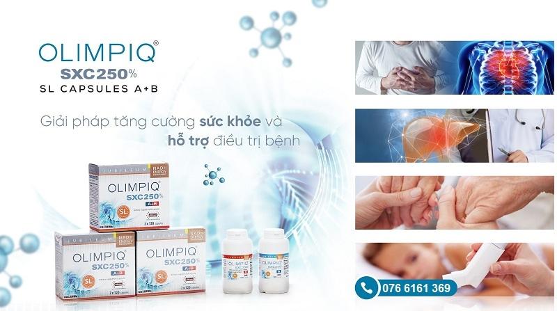 Tăng sinh tế bào gốc nội sinh Olimpiq SXC SL 250% (2x120) trị tiểu đường