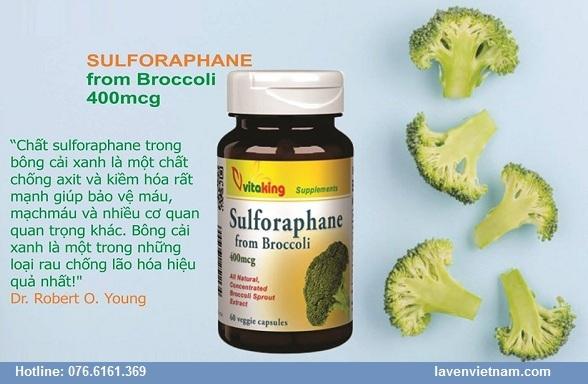 Sulforaphane từ bông cải xanh hỗ trợ bệnh tim mạch, tiểu đường
