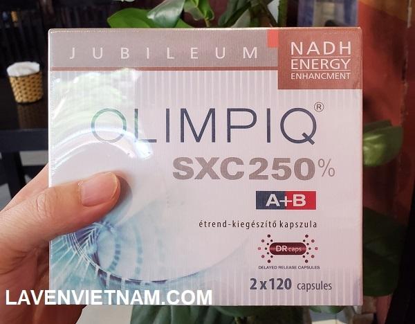 Viên uống Tăng sinh tế bào gốc nội sinh Olimpiq SXC 250% phổ thông