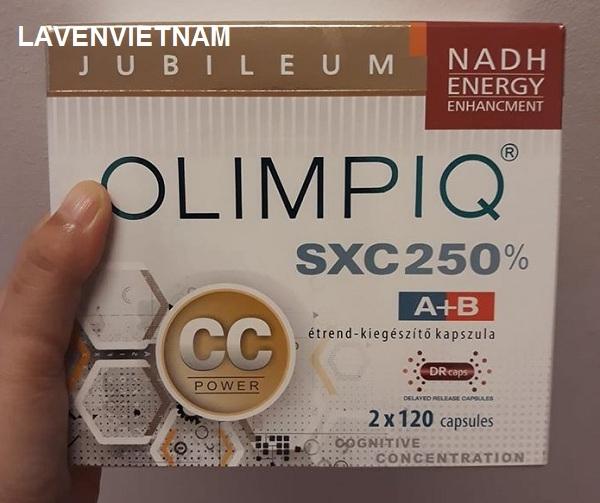 Tăng sinh tế bào gốc Olimpiq SXC CC 250% bổ não (2x240v)