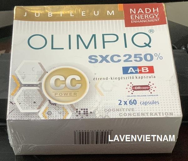 Tăng sinh tế bào gốc Olimpiq SXC CC 250% bổ não (2x60v)