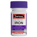 Swisse Iron - Viên uống bổ sung sắt (30 viên)