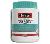 Bổ sung Omega 3 Swisse Wild Fish Oil 2000mg (300 viên)